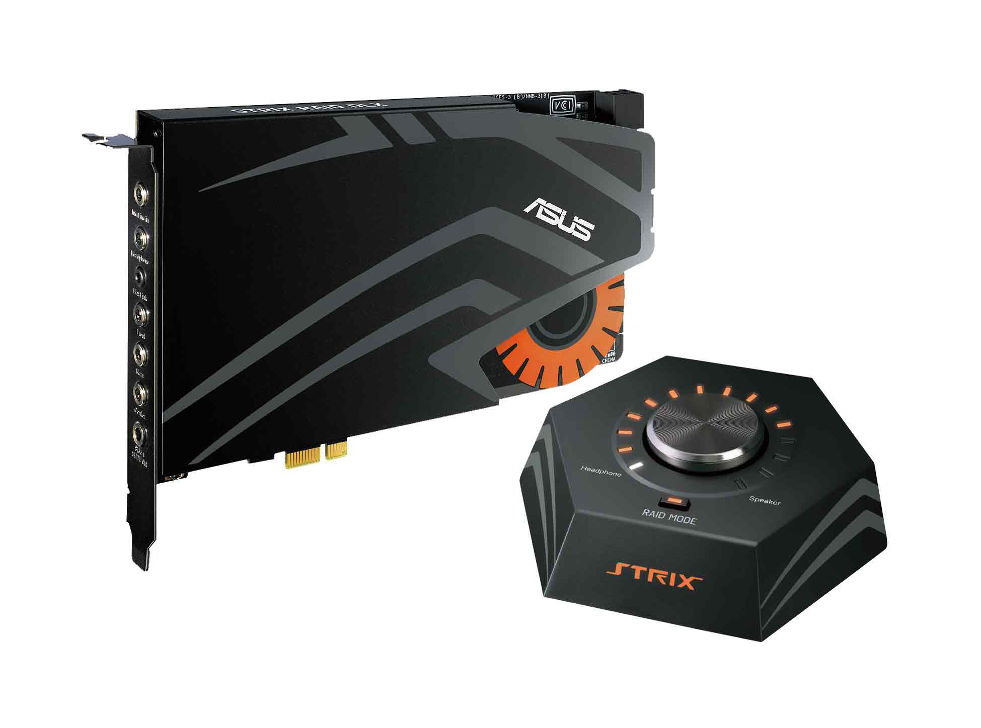 Photo of ASUS presenta las tarjetas de audio para gaming Strix Raid DLX, Strix Raid Pro y Strix Soar 7.1