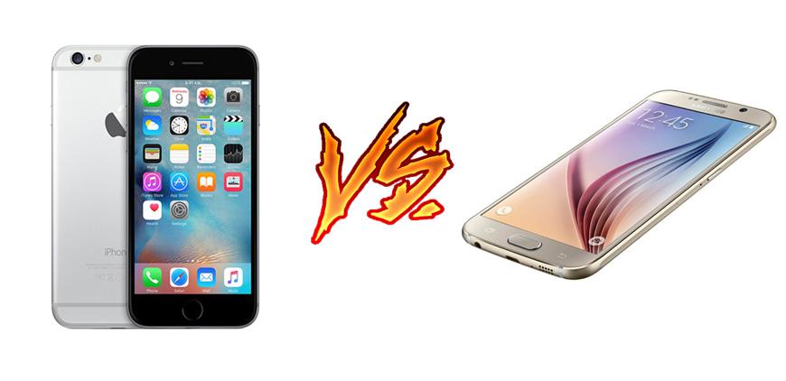 Photo of iPhone 6S vs Galaxy S6: carrera cuerpo a cuerpo