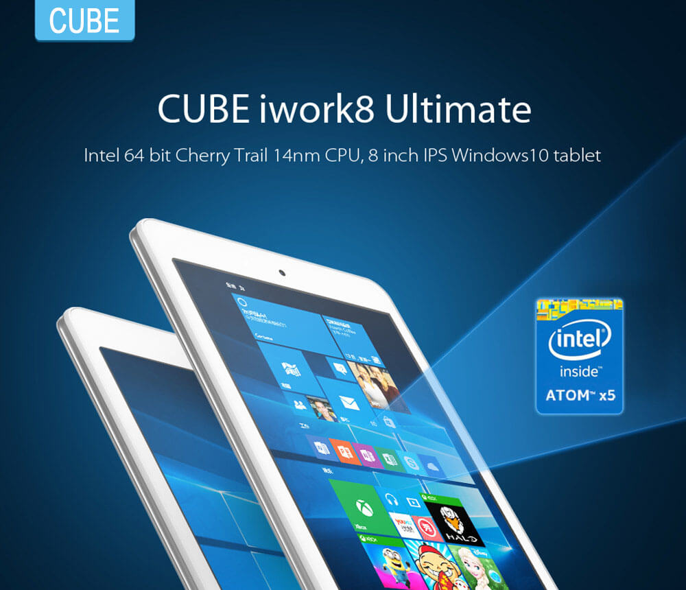 Photo of Cube iwork8 Ultimate: Tablet con Windows 10