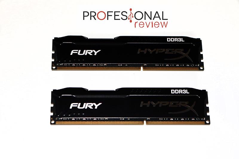 Kingston HyperX Fury DDR3L review