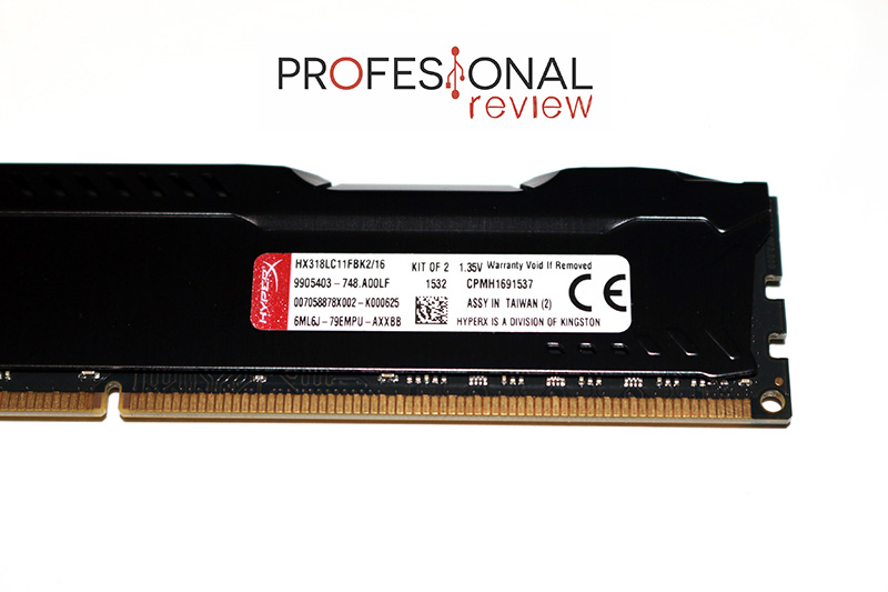 Kingston HyperX Fury DDR3L setting