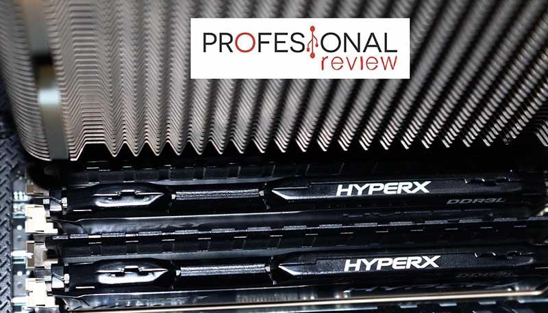 Kingston HyperX Fury DDR3L compatibilidad noctua