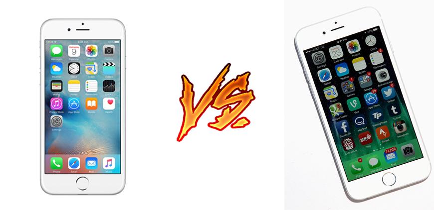 Photo of iPhone 6S vs iPhone 6: dos potentes smartphones de Apple