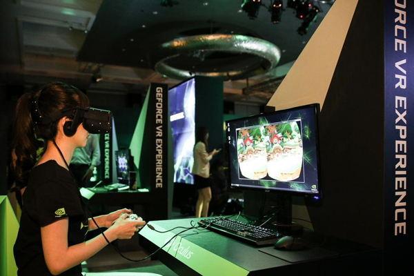 Nvidia realidad virtual