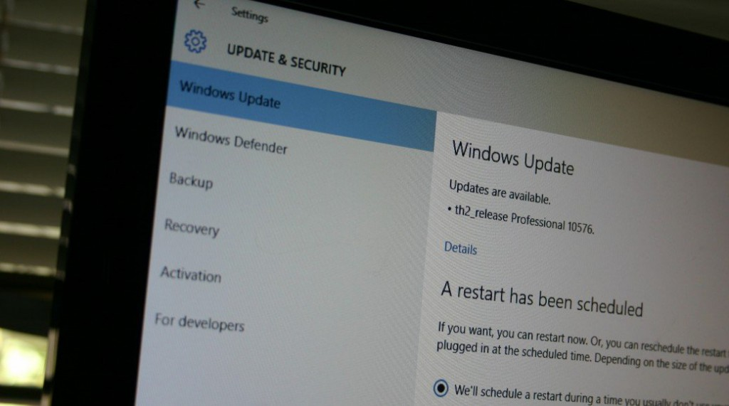 Parche windows update