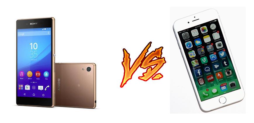 Photo of Sony Xperia Z5 vs Iphone 6: una batalla con clase