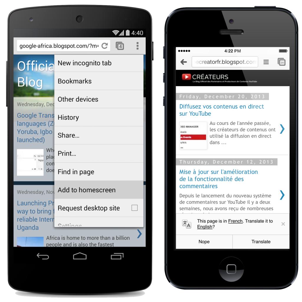 Evitar que Google Chrome guarde tus contraseñas en tu teléfono móvil