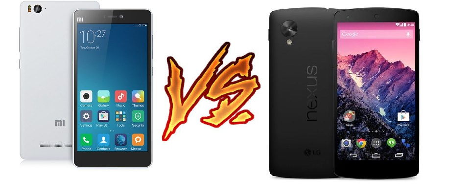 comparativa xiaomi mi4c vs nexus 5x