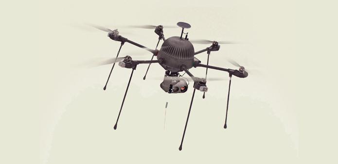 drones de vigilancia