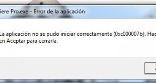 error 0XC00007B