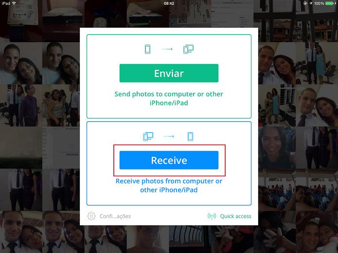 imagen pc a iphone o ipad
