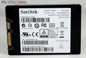 Sandisk Extreme PRO SSD 240GB