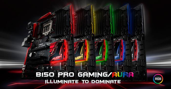 Asus B150 PRO GamingAura-RGB