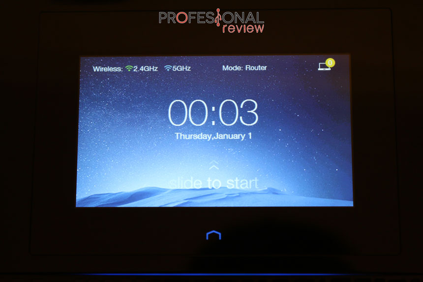 TP-Link Touch P5 pantalla