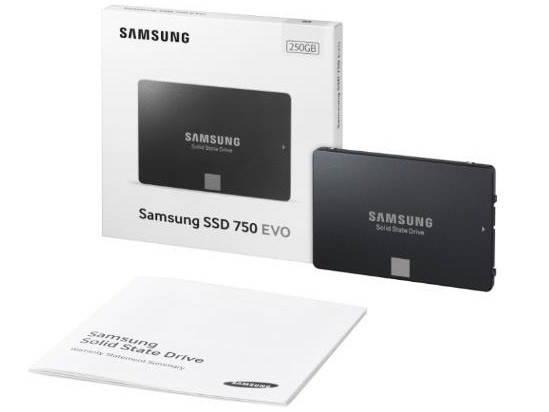 samsung 750 evo lanzado al mercado