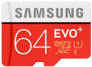 samsung evo+ microsd