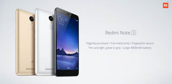 xiaomi redmi note 3 a