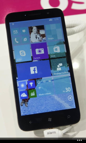 Photo of Alcatel OneTouch Fierce XL de 5,5 pulgadas y Windows 10