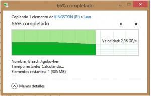 Copiado Pendrive a SSD