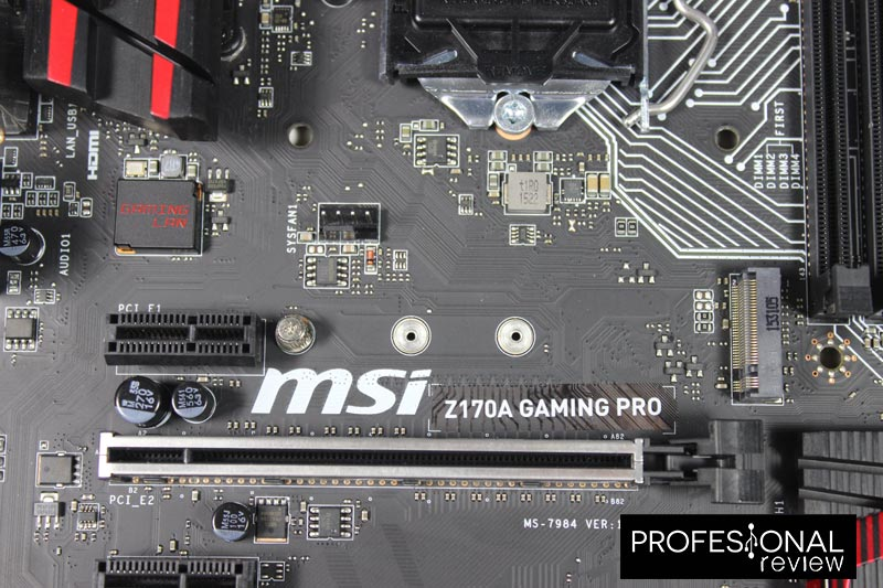 MSI Z170A Gaming PRO M2
