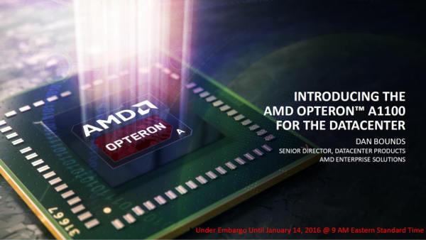 Photo of AMD Opteron A1100 Series con núcleos Cortex A57