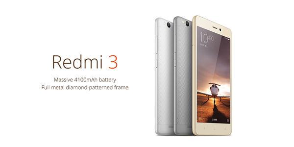 Xiaomi Redmi 3 a