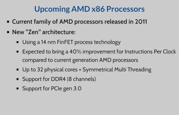 AMD Zen soporta hasta 8 módulos DDR4