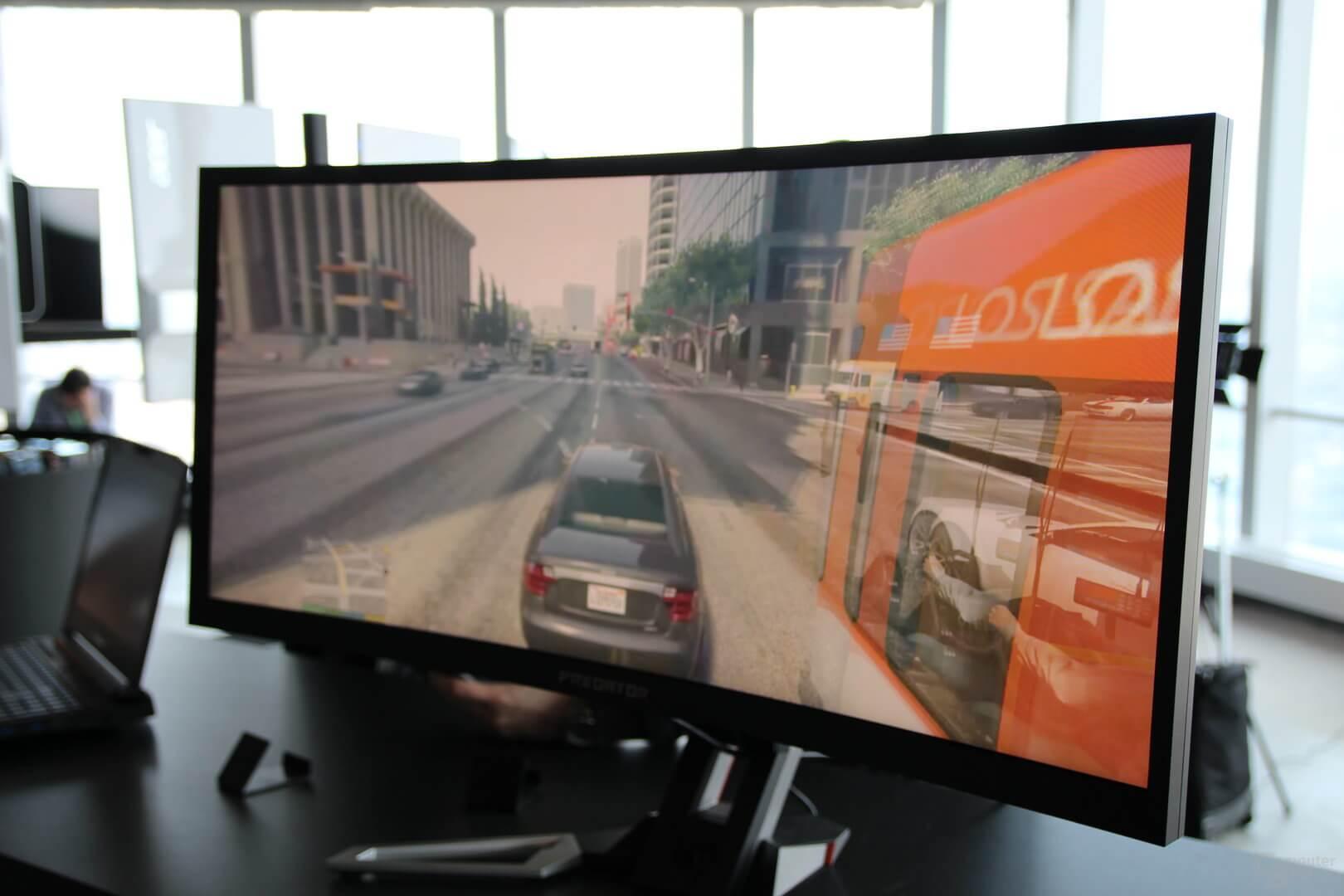 Photo of Acer Predator Z35 monitor WQHD con G-Snyc