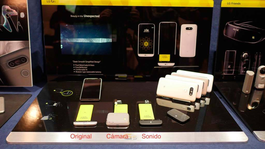 LG G5 complementos