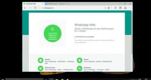 Microsoft Edge ya soporta WhatsApp Web