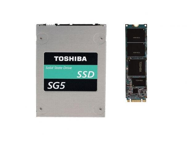 Nuevos SSD Toshiba SG5
