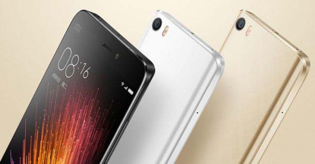 Xiaomi-Mi5 diseño