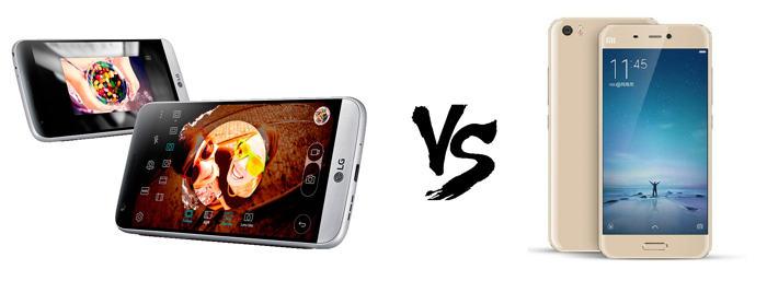 LG G5 vs Xiaomi Mi5