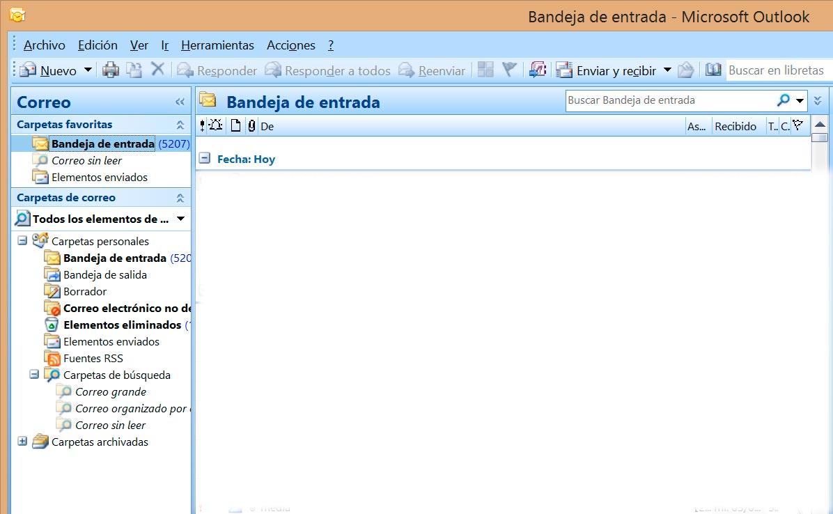 configurar cuentas de correo en outlook