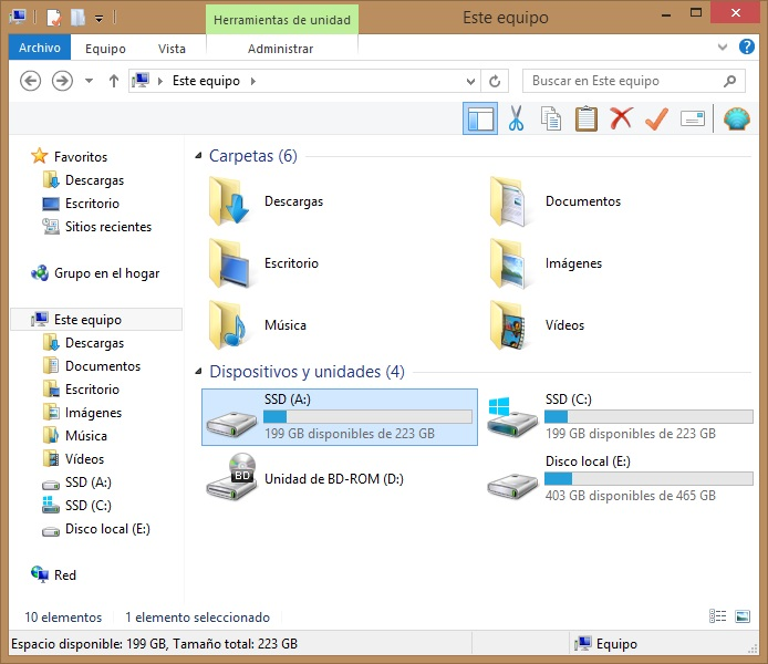 montar carpeta como una unidad de windows con Visual subst 4