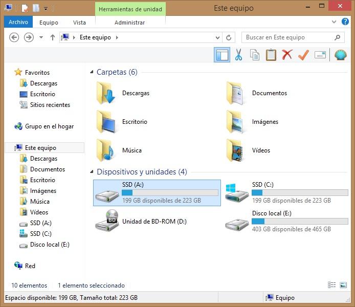 montar carpeta como una unidad de windows con Visual subst 4