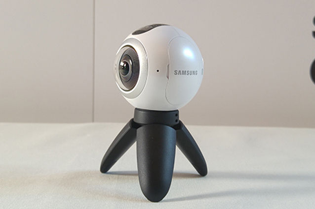 samsung gear 360 trípode