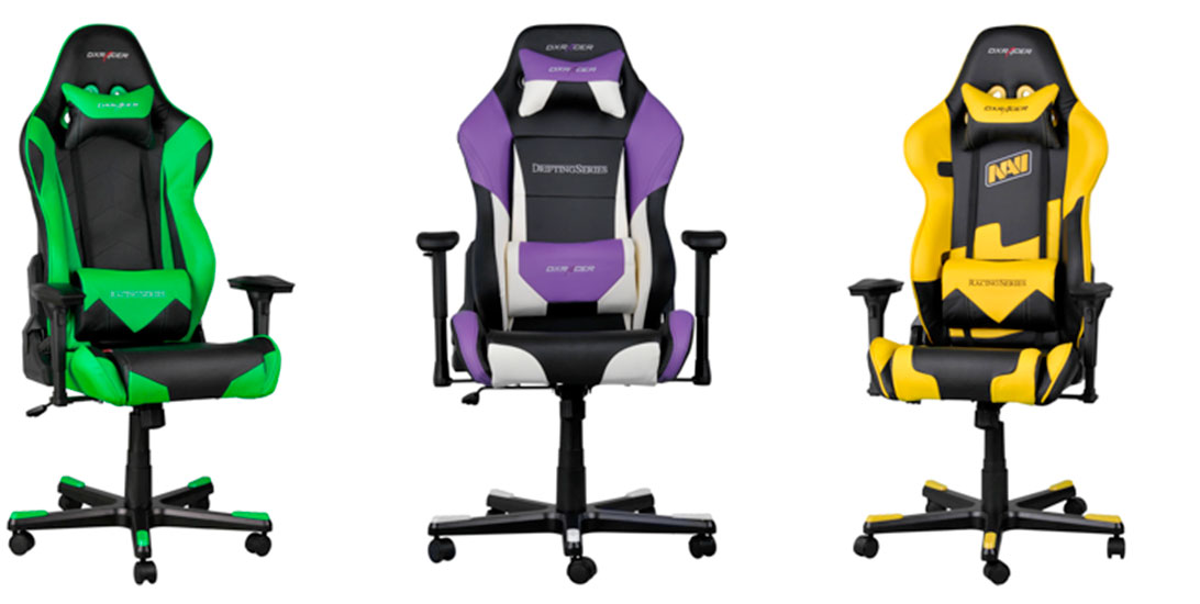 Photo of DXRacer presenta su gama de sillas para gamers 2016