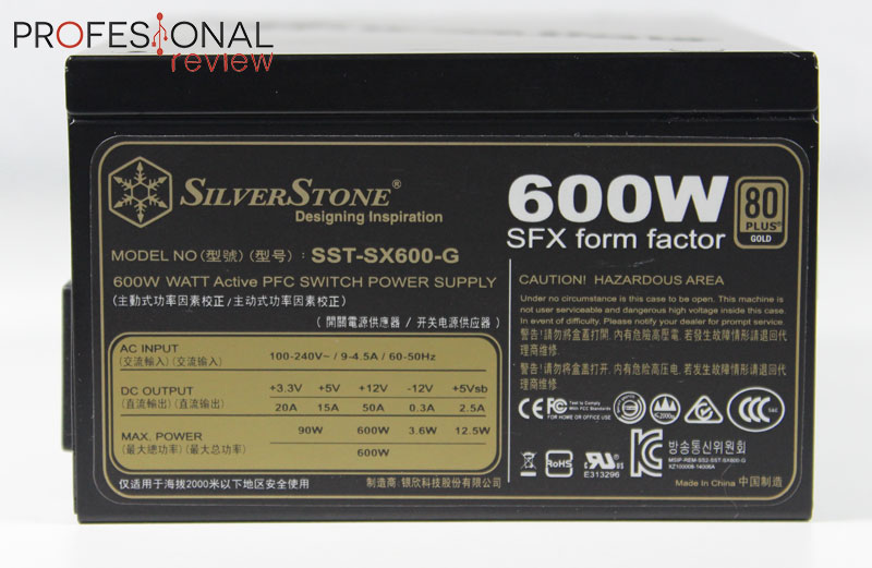 Silverstone SX600-G review