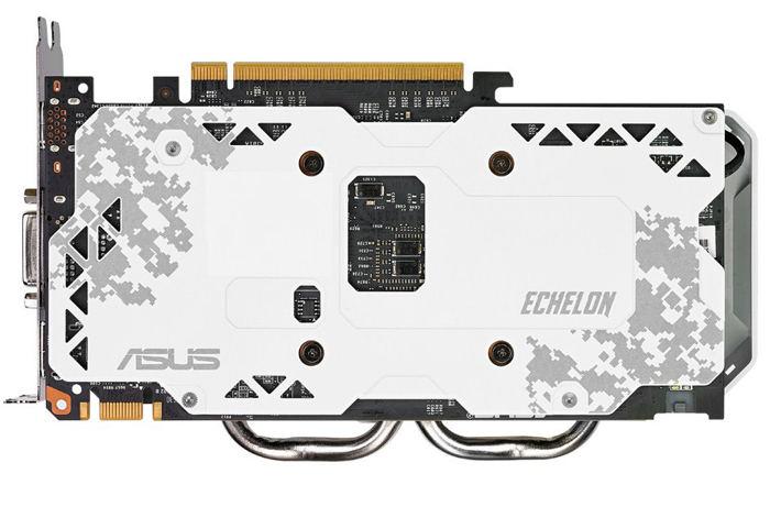 Asus Echelon GTX 950 anunciada backplate