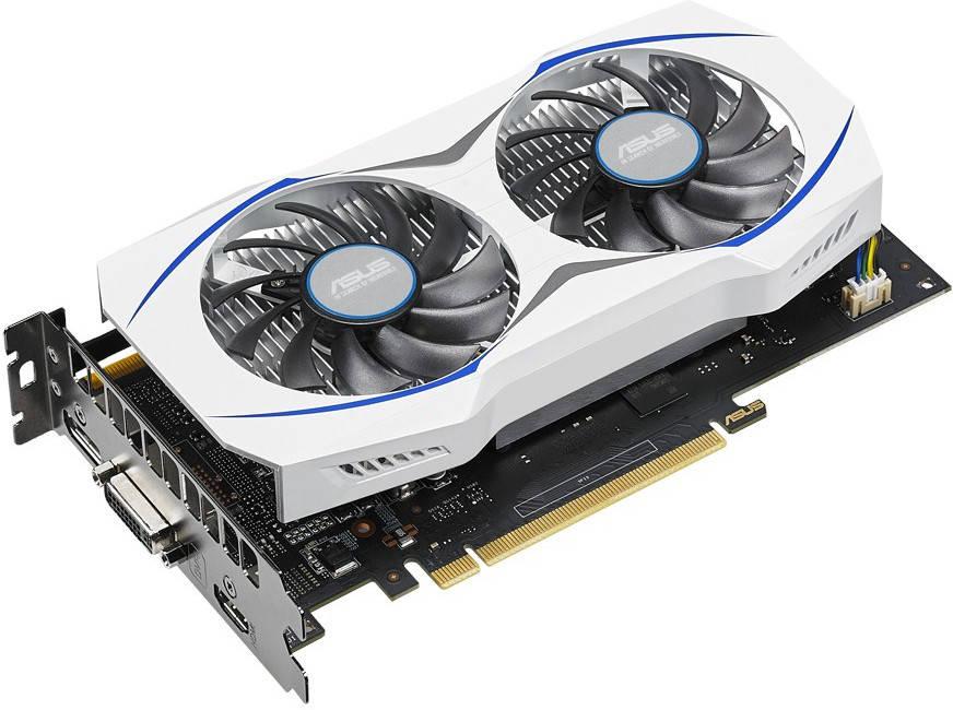 Asus GeForce GTX 950 sin conector de corriente 2