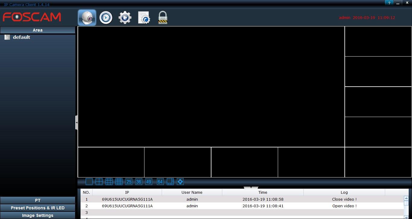 Foscam Fi9800p review software 1