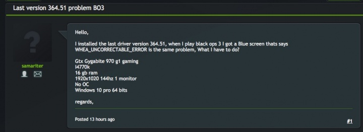 GeForce 364.51 Beta