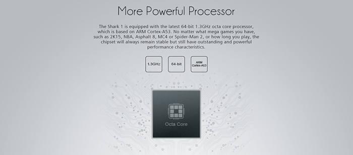 Leagoo Shark 1 procesador