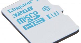 Nueva microSD Kingston para cámaras de acción
