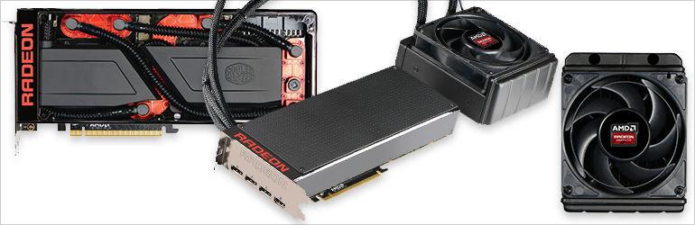Radeon Pro Duo refrigeración