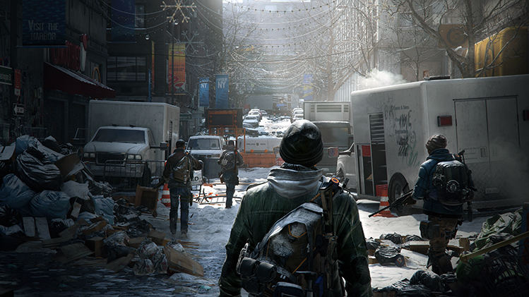 The Division Xbox One vs PS4 vs PC