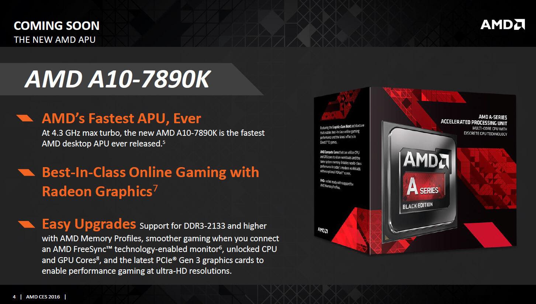 A10-7890K APU