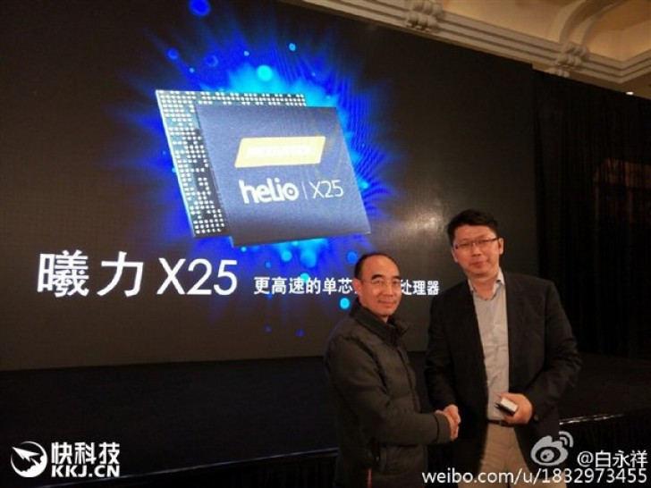 helio x25 anunciado