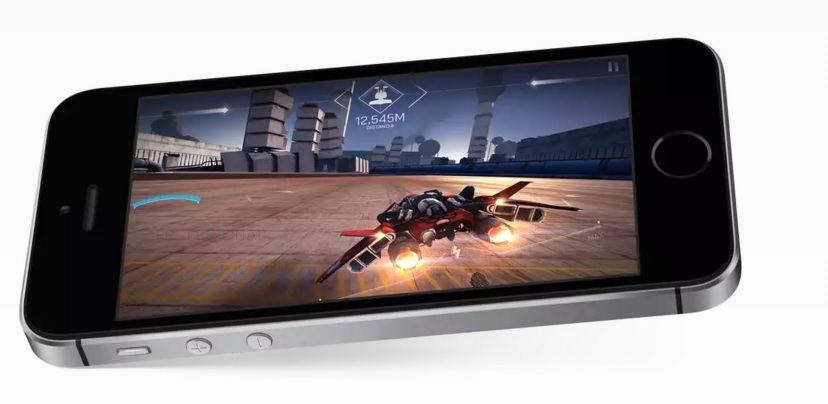 iPhone SE con 4 pulgadas